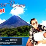 Outlet de viajes a Costa Rica desde $245 USD mas impuestos!!!