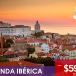 Ronda Ibérica visitando Portugal y España desde $599 usd, Reserva YA!