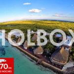 Visita las blancas playas y mágicos paisajes de Isla Holbox