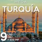 Últimos 2 lugares para viajar a Turquía, salida 03 de octubre, Reserva YA!
